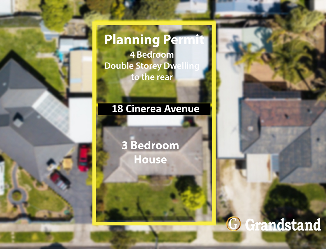 Family Home with Planning Permit to Develop a 4 Bedroom Double Storey Rear Unit