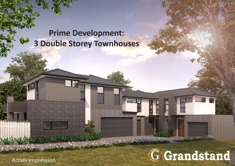 Prime Development Opportunity: Build 3 double-storey townhouses!